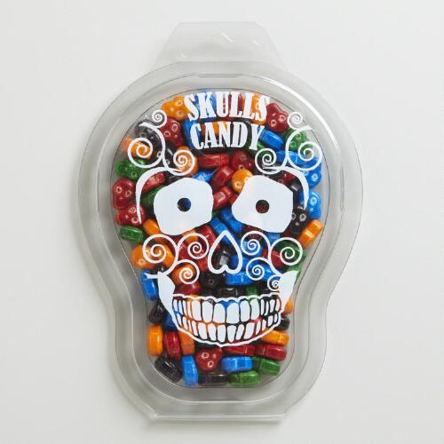 Sunflower Skull Candy Box