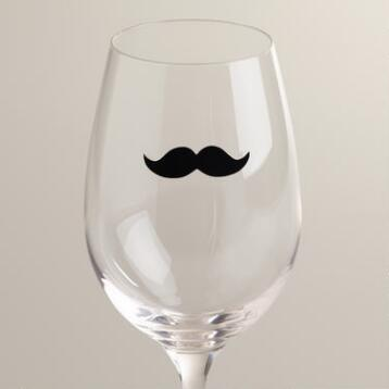 Dapper Staches Drink Markers