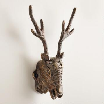 Wall Mounted Stag Bottle Opener