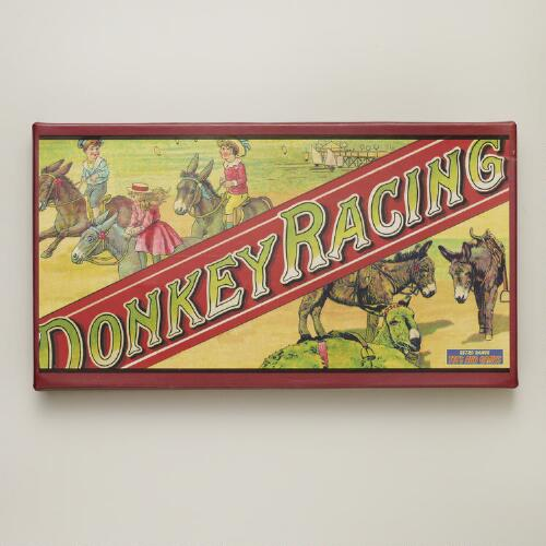 Retro Donkey Racing Game