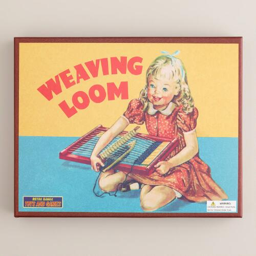 Retro Weaving Loom