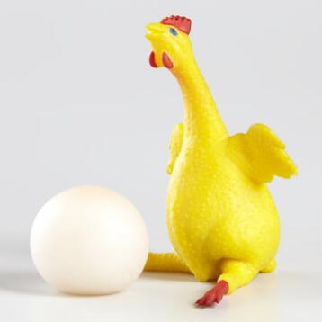 Chicken n' Egg Squeeze Toy