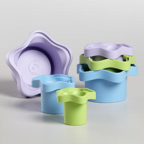 My First Green Toys Stacking Cups