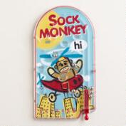 Sock Monkey Pinball Game