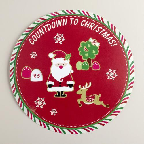 Countdown to Christmas Placemat