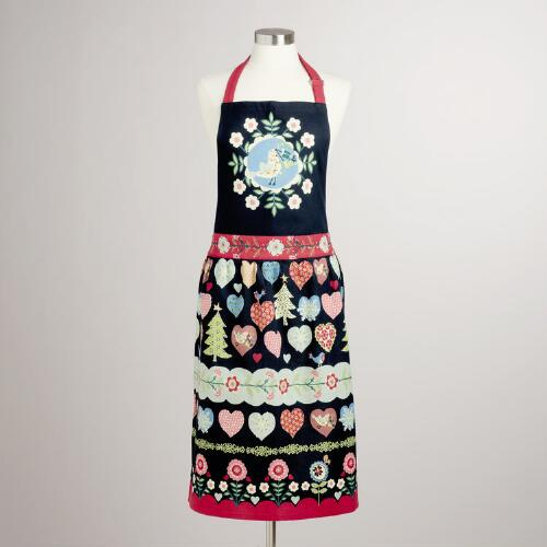 Alpine Hearts Apron