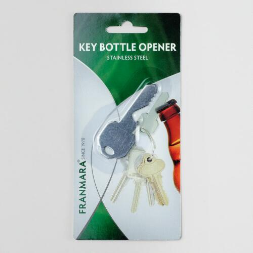 Stainless Steel Key Bottle Opener