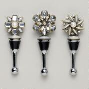 Vintage Brooch Stoppers, Set of 3