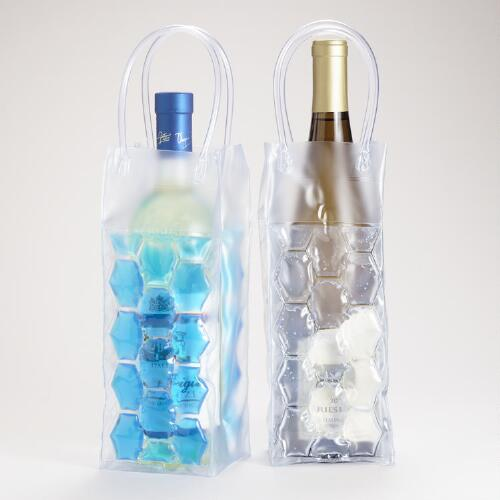 Vino Chill Bottle Bags, Set of 2