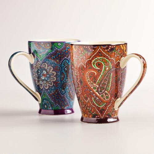 Rialto Mugs, Set of 2