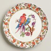 Claudette Bird Salad Plates, Set of 2