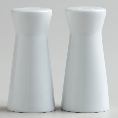 Porcelain Salt and Pepper Shaker Set