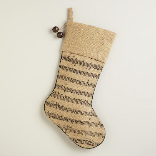 Music Note Stocking