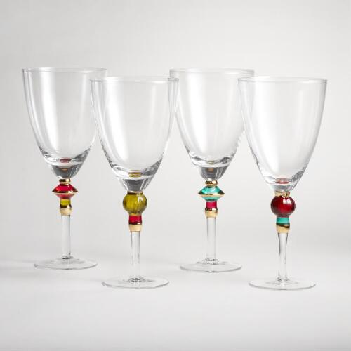 Russian Wine Goblets, Set of 4