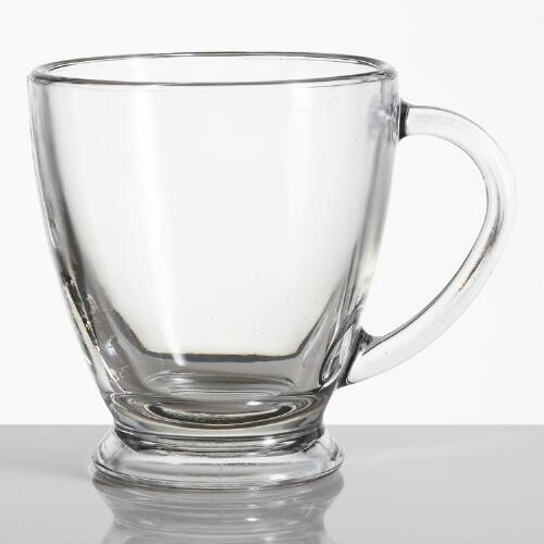 Ava Glass Mugs, Set of 2