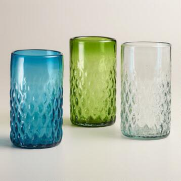 Clear Maya Recycled Tumbler, Set of 2