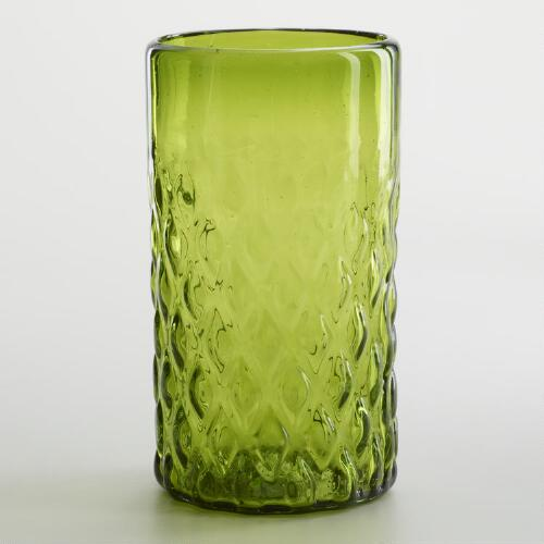 Green Maya Recycled Tumbler, Set of 2