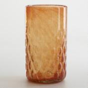 Orange Maya Recycled Tumbler, Set of 2