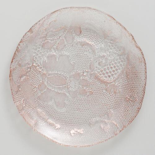 Copper Lace Plates, Set of 2