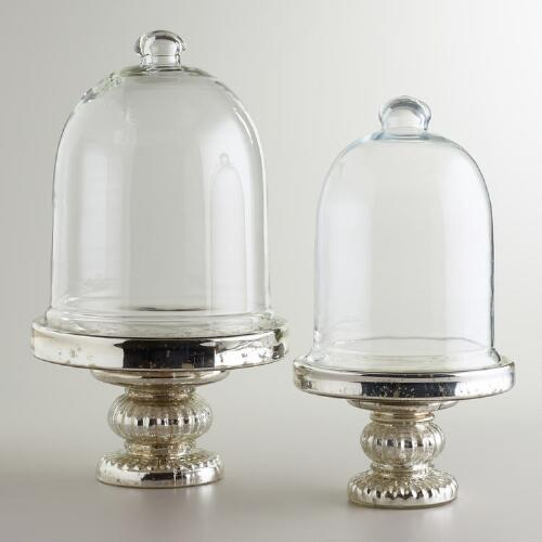 Mercury Glass Cloche