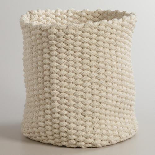 Ivory Knit Emma Baskets
