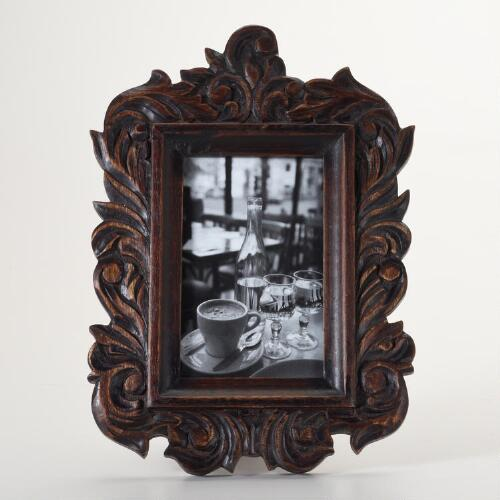 English Oak Iris Frame