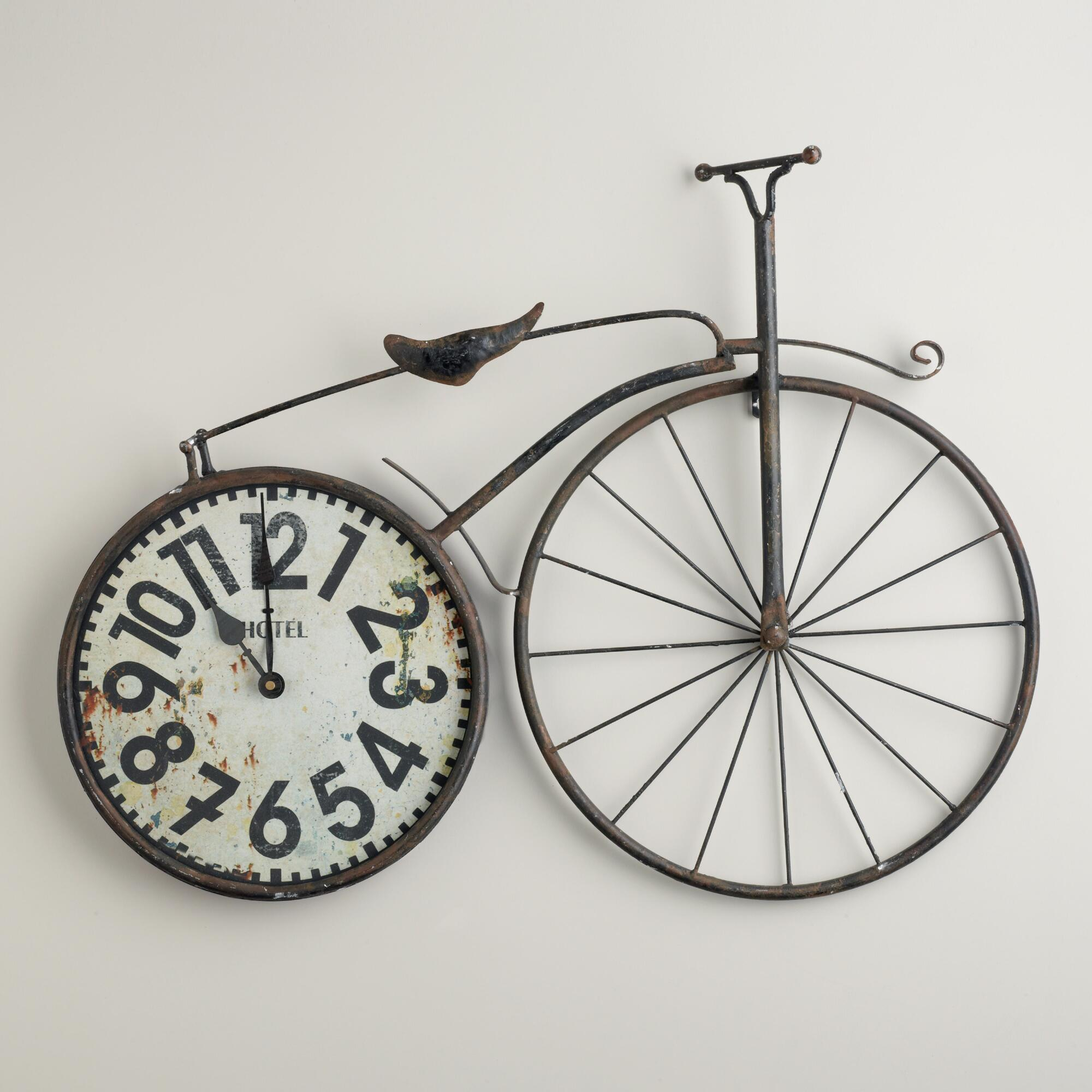 Bike Design Wall Clock : Bicycle wall clock world market