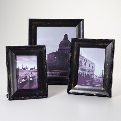 Black and Gold Sorrento Frames