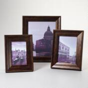 Walnut and Gold Sorrento Frames