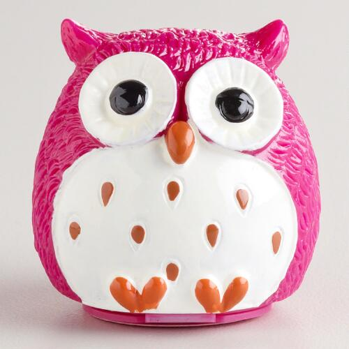 Strawberry Owl Lip Balm, Set of 2