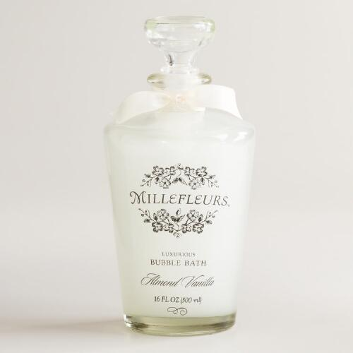 Vanilla Almond Millefleurs Bubble Bath