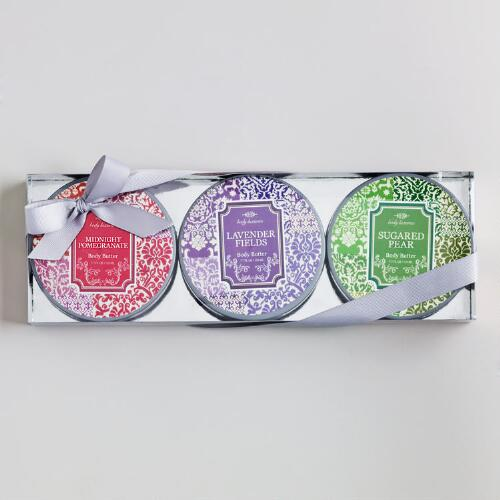 Ikat Assorted Body Butter Set, Set of 3