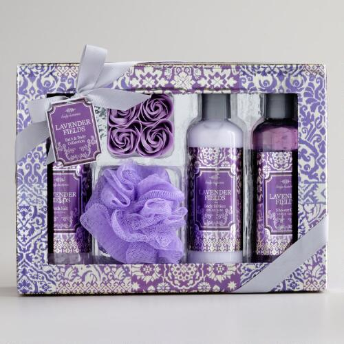 Lavender Fields Ikat Gift Set
