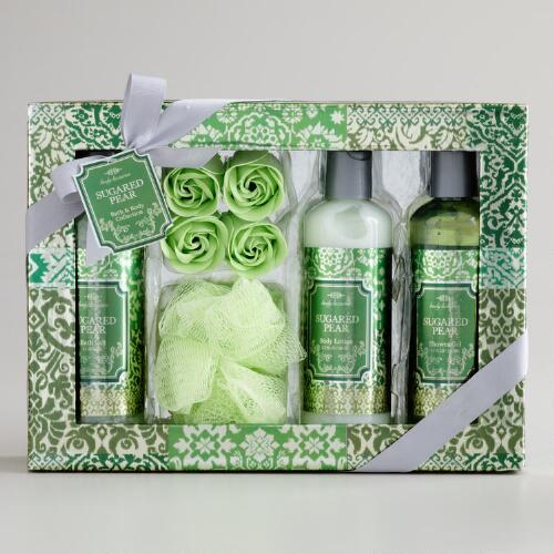 Sugared Pear Ikat Gift Set