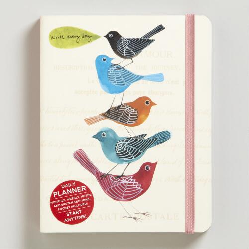 Avian Friends Pocket Planner