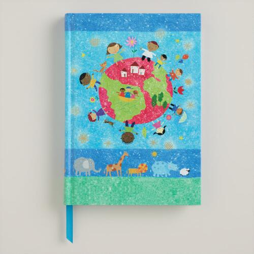 Blue UNICEF Kids Journal