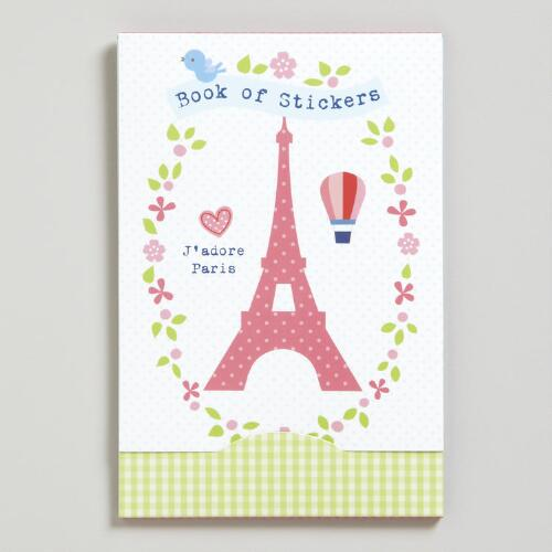 Paris Book of Stickers