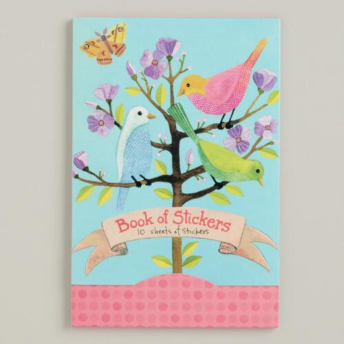 Avian Friend Book of Stickers