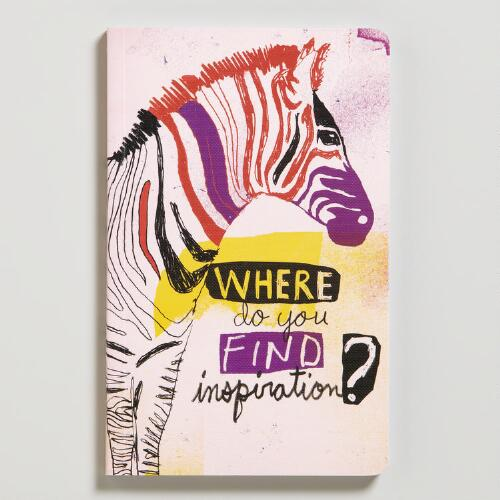 """Where Do You Find Inspiration?"" Write Now Journal"