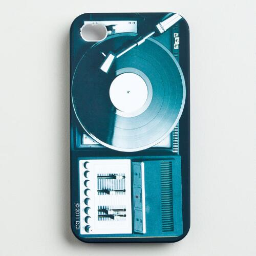 Turntable iPhone Cover