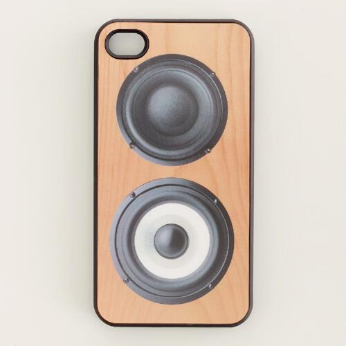 3D Speaker iPhone Cover
