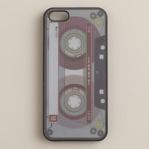 3-D Cassette iPhone 5 Cover