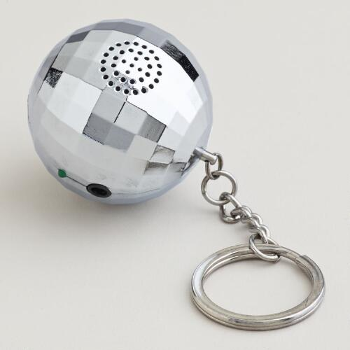 Disco Ball Speaker and Keychain