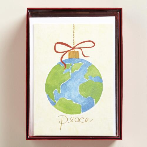 World Peace Boxed Holiday Cards, Set of 15