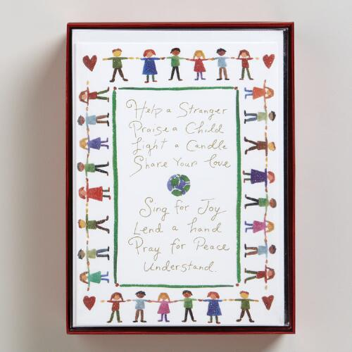 Sing for Joy Boxed Holiday Cards, Set of 15