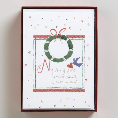 However Small Boxed Holiday Cards, Set of 15