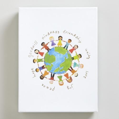 Kids Around the Globe Boxed Holiday Cards, Set of 20