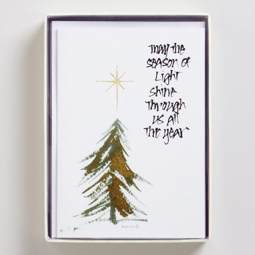 The Season of Light Boxed Holiday Cards, Set of 12