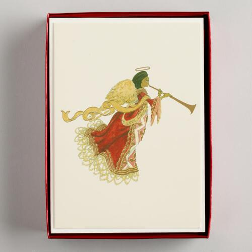 Love Angel Boxed Holiday Cards, Set of 15