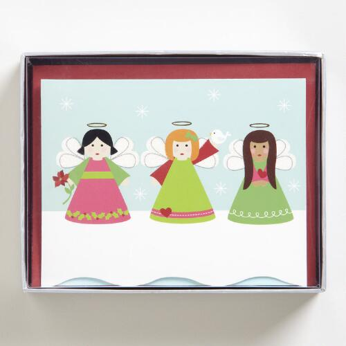 Heavenly Holidays Boxed Holiday Cards, Set of 15